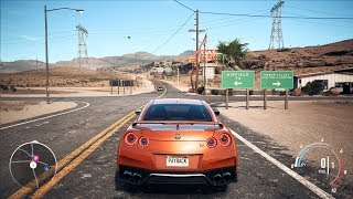 Need For Speed: Payback - Nissan GT-R Premium - Open World Free Roam Gameplay (PC HD) [1080p60FPS]
