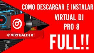 Como Descargar Virtual DJ 8 PRO Full En Español