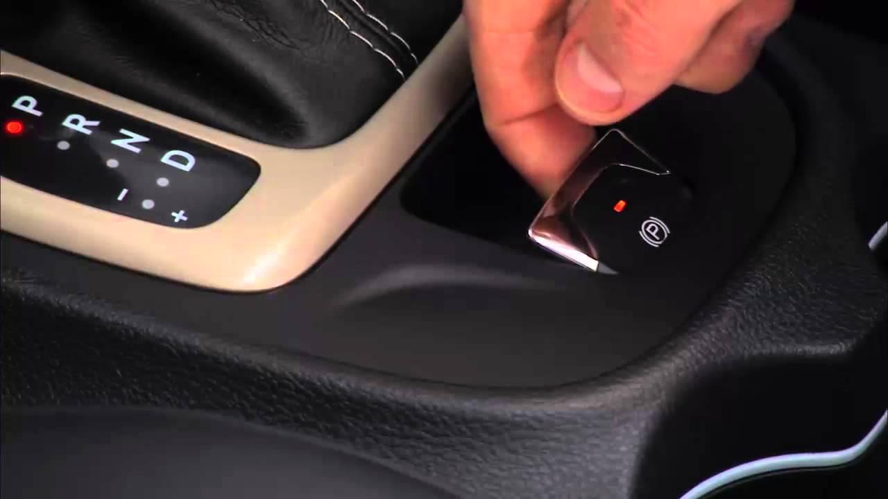 2015 Jeep Cherokee Electric Park Brake Epb Youtube 2000 Subaru Liberty Central Locking Wiring Diagram