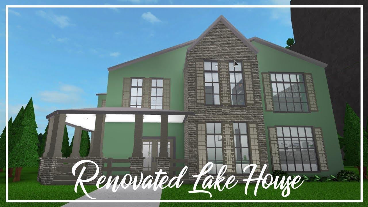 Welcome To Bloxburg: Renovated Lake House - YouTube