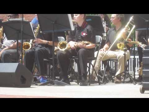 Knoxville Middle School Jazz Orchestra - Dogwood Arts Festival 4/30/17