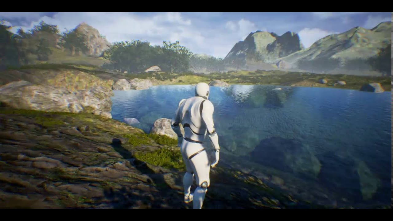 unreal engine 4 - landscape auto
