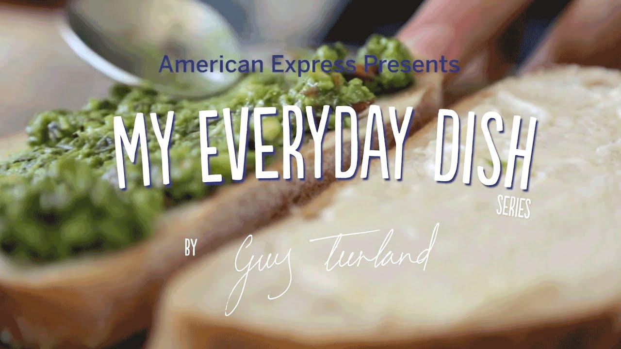 Quick Almond Pesto w/ Guy Turland | My EveryDay Dish