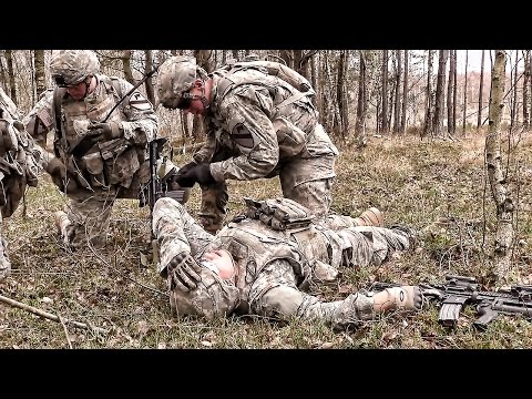 1st Brigade Combat Team Live Fire Training