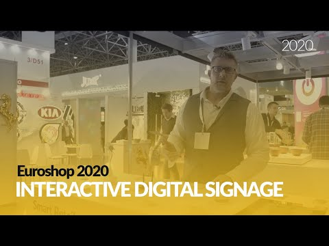 Smart Retail: Using IoT Sensors To Create Interactive Digital Signage @Euroshop 2020