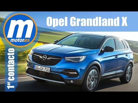 opel grandland x primer contacto review en espa ol. Black Bedroom Furniture Sets. Home Design Ideas
