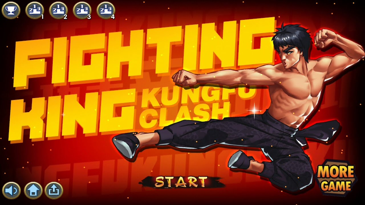 Fighting King:Kungfu Clash / Kungfu Lý Tiểu Long  Android / Ios Game Hot Tháng 11