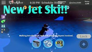 New Jet Ski Update In Roblox Jailbreak!!