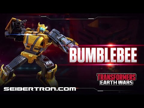 BUMBLEBEE Character Spotlight video and demo Transformers: Earth Wars