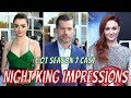Game of Thrones Cast does NIGHT KING IMPRESSIONS at LA Premiere