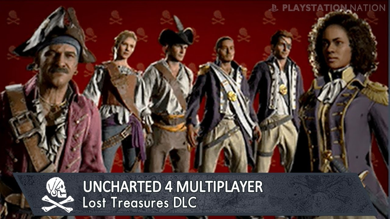uncharted 4 multiplayer lost treasures all dlc contents youtube. Black Bedroom Furniture Sets. Home Design Ideas