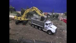 Bridge Construction Diorama Stopmotion