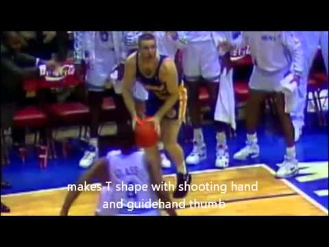 【Basketball shooting form】 NBA Shooters Breakdown- How to shoot like Chris Mullin