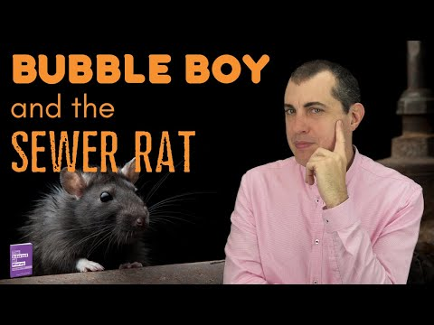 Bitcoin Security: Bubble Boy and the Sewer Rat