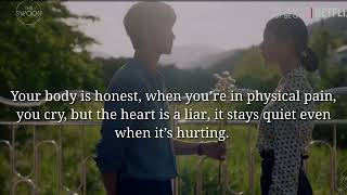 Best quotes from kdrama It's okay not to be okay || Seo ye ji || kim soo hyun