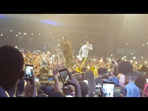 Olamide and Wizkid Performing