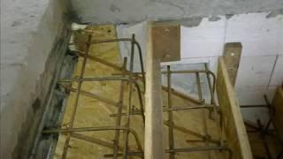 Бетонная лестница (процесс изготовления)(, 2012-02-22T15:31:53.000Z)