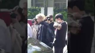 190419 Stray Kids arrival at KBS Music Bank