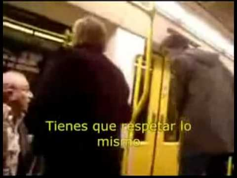 El niñato del metro de valencia [subtitulado]