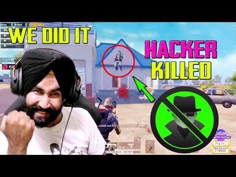Gtxpreet Killed a Hacker in PUBG MOBILE