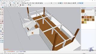 Curso de Maquete Eletrônica com SketchUp - Aula 24/50 Escada de Acesso - Autocriativo