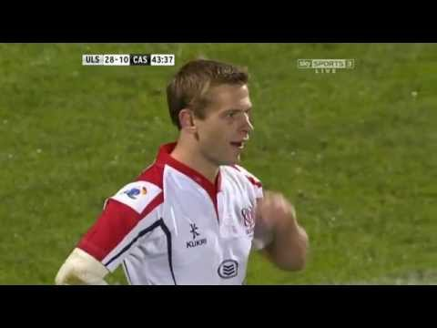 Paul Marshall Tries Ulster V Castres Heineken Cup Round 1 2012/13