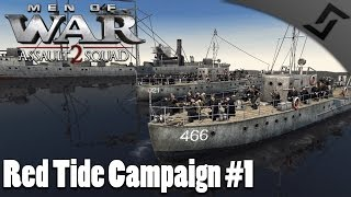 Russian Marines Invasion - Men of War: Assault Squad 2 - Red Tide Mission 1