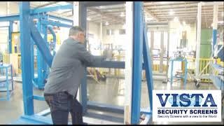 vista security screens impact test video