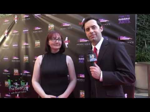 Michelle Morgan Interview at MARILYN! Premiere
