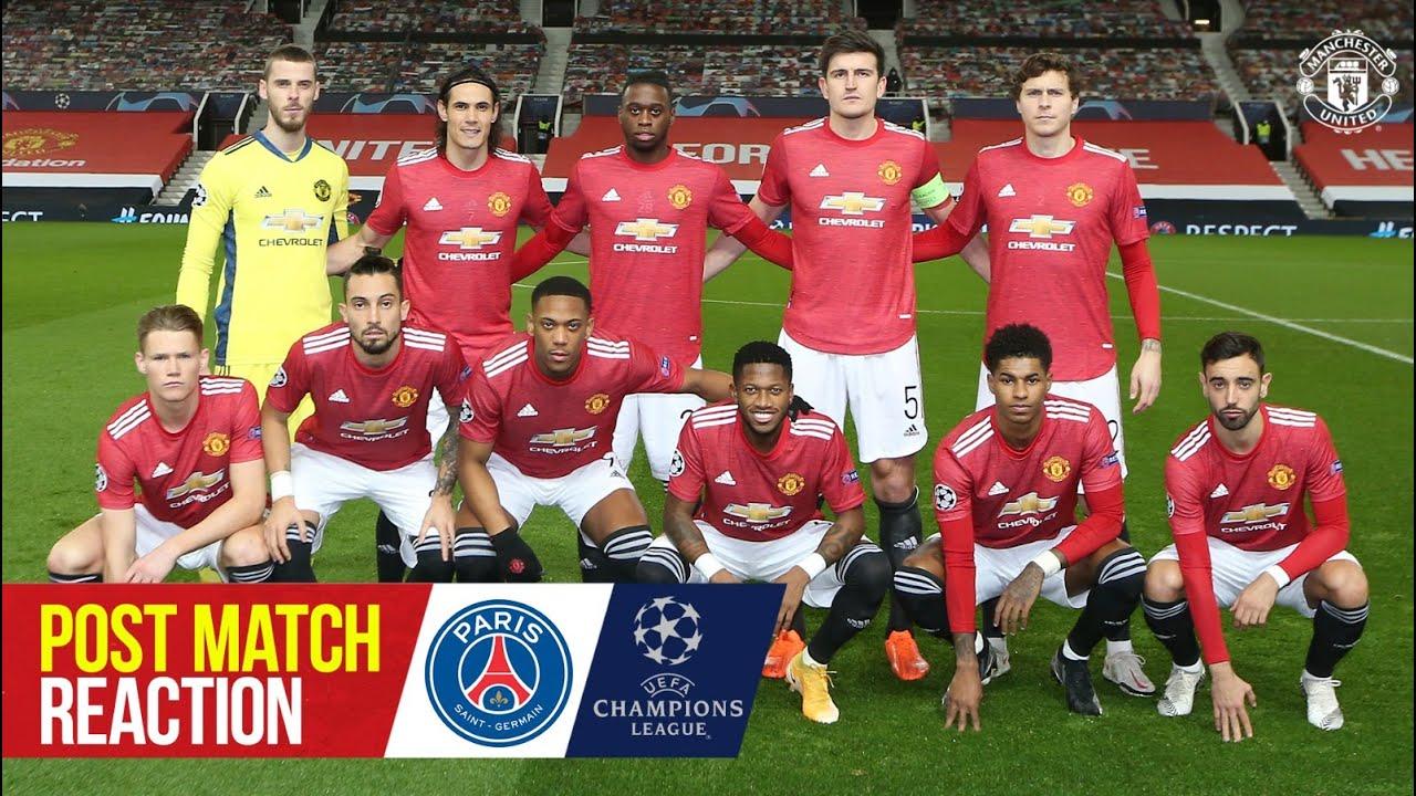 Ole Gunnar Solskjaer & Scott McTominay | Post Match Reaction | Manchester United 1-3 PSG | UCL