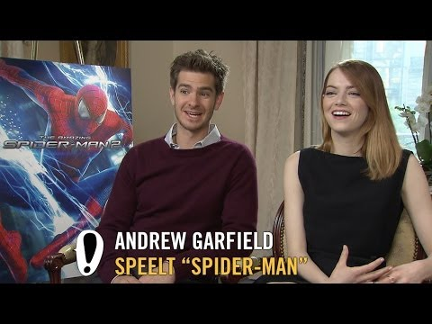 The Amazing Spider-Man 2 - Interview - Andrew Garfield + Emma Stone + Jamie Foxx - Pathé