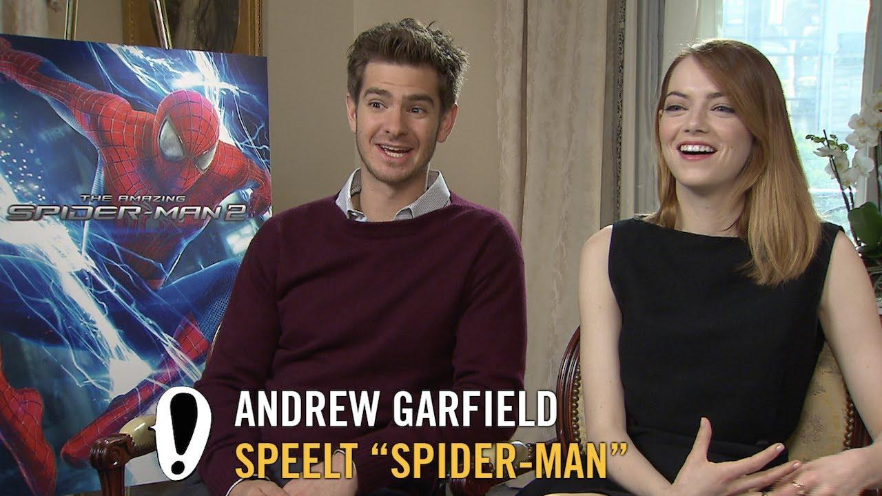 The Amazing Spider Man 2 Interview Andrew Garfield Emma Stone Jamie Foxx Pathe Youtube