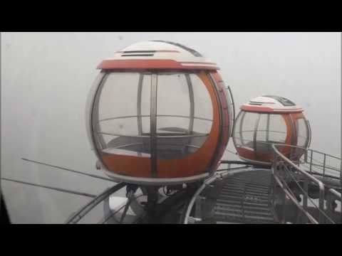Bubble Tram on top of Canton Tower in China