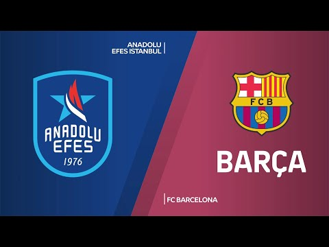 Anadolu Efes Istanbul - FC Barcelona Highlights | Turkish Airlines EuroLeague, RS Round 16