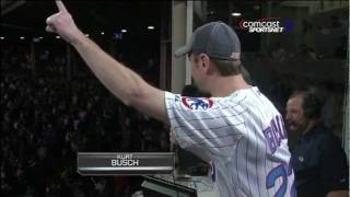 Take Me Out To The Ballgame - Kurt Busch (9/19/2011)