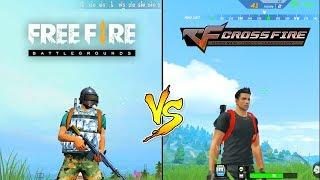 Free Fire Battleground VS Cross Fire Legends Comparison. Which one is better?