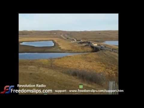 Live from cannonball North Dakota - -   First Nation Protesters #nodapl