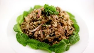 Spicy Beef Salad(plea Sach Ko/beef Larb Or Laap)