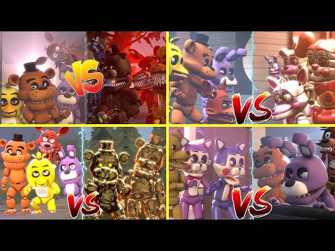 Download Five Nights at Freddy's VS Animatronics Fight Series Compilation