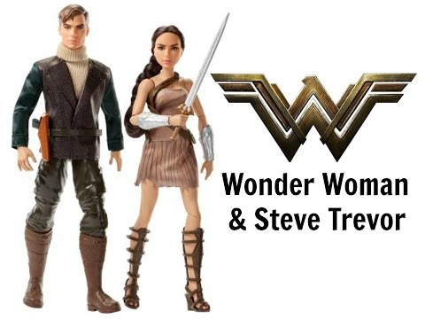 WONDER WOMAN AND STEVE TREVOR DOLLS TWO PACK - DOLL REVIEWS