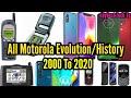 - All Motorola Mobile Phone Evolution/History 2000 To 2020