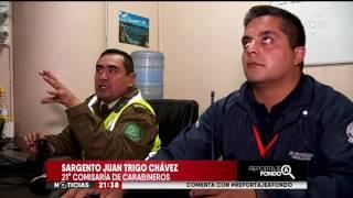 Alerta por delincuencia en terminal de buses en Santiago - CHV Noticias