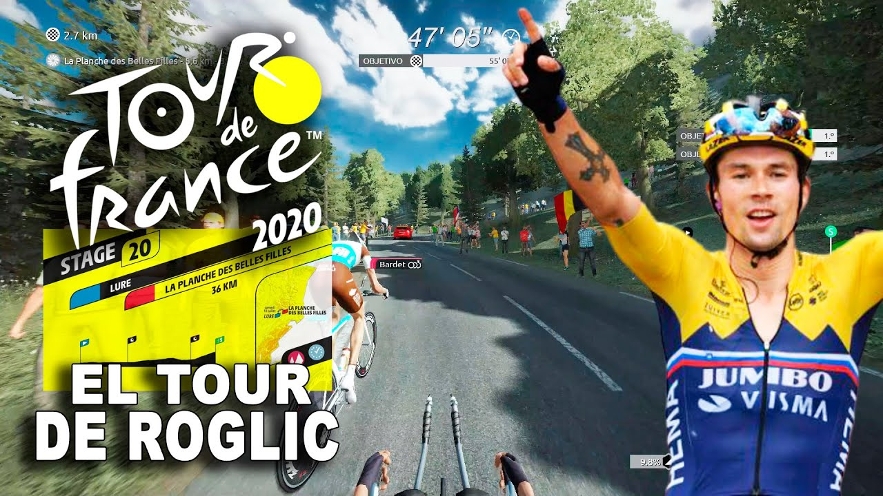 TOUR DE FRANCE 2020 El Tour de Roglic #20 VR_JUEGOS