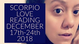 SCORPIO | SUPER FAST ACTION! | WEEKLY LOVE TAROT READING | 12.17-12.24.18 | DECEMBER 2018