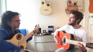 Connecting chords in the Andalusian Cadence /Paco de Lucia´s flamenco style /Ruben Diaz Lessons