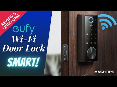The wait is over! Here is the Wi-Fi Door Lock from eufy.