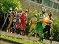Power Rangers RPM - End Game - Black and Green Ranger vs Attack Bot (Episode 30)