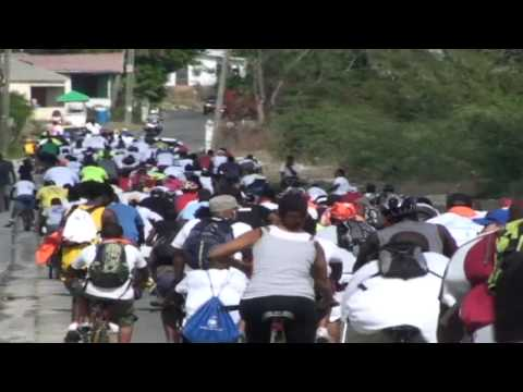 Trans- Antigua Cycle Challenge 2010 - Sat 15th May, 6am