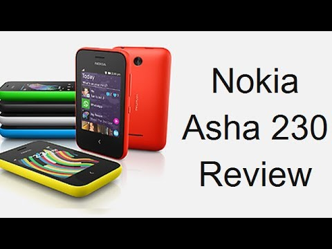 Nokia Asha 230 Review, Price, Features And Hands On From MWC 2014