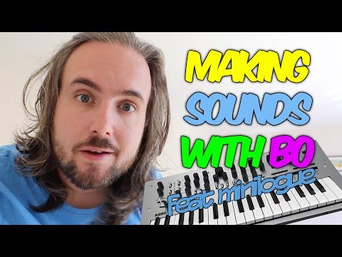 "Making Sounds with Bo #1 | Beginner Advice & Creating a ""PLINK"" sound using the Minilogue (TUTORIAL)"